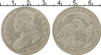 Изображение Монеты Северная Америка США 50 центов 1834 Серебро XF