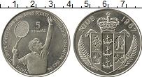 Изображение Монеты Ниуэ 5 долларов 1987 Медно-никель UNC-