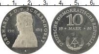 Изображение Монеты ГДР 10 марок 1980 Серебро Proof-