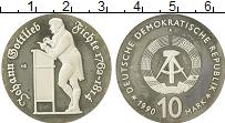 Изображение Монеты ГДР 10 марок 1990 Медно-никель Proof-