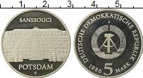 Изображение Монеты ГДР 5 марок 1986 Медно-никель Proof- Потсдам