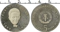 Изображение Монеты Германия ГДР 5 марок 1990 Медно-никель Proof-