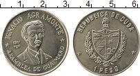 Изображение Монеты Северная Америка Куба 1 песо 1977 Медно-никель UNC-
