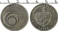Изображение Монеты Северная Америка Куба 1 песо 1979 Медно-никель UNC-