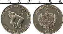 Изображение Монеты Северная Америка Куба 1 песо 1983 Медно-никель UNC-