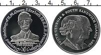 Изображение Монеты Южная Америка Сендвичевы острова 2 фунта 2007 Серебро Proof