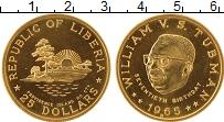 Изображение Монеты Либерия 25 долларов 1965 Золото UNC