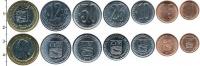 Изображение Наборы монет Венесуэла Венесуэла 2007-2009 2007  UNC