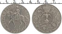 Изображение Монеты Великобритания 25 пенсов 1977 Медно-никель UNC- 25 лет правления Ели
