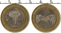 Изображение Монеты Того 6000 франков 2003 Биметалл UNC-