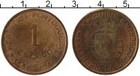 Изображение Монеты Африка Гвинея-Бисау 1 эскудо 1946 Бронза VF