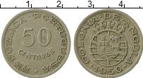Изображение Монеты Ангола 50 сентаво 1950 Медно-никель XF