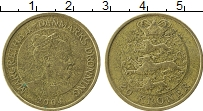 Изображение Монеты Дания 10 крон 2004 Латунь XF Маргрете II