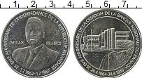 Изображение Монеты Африка Руанда 1000 франков 1989 Серебро UNC-
