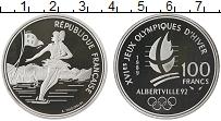 Изображение Монеты Франция 100 франков 1989 Серебро Proof-