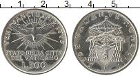 Изображение Монеты Ватикан 500 лир 1963 Серебро UNC-