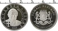 Изображение Монеты Африка Сомали 2000 шиллингов 2005 Серебро UNC