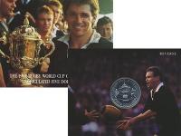 Изображение Подарочные монеты Новая Зеландия 5 долларов 1991 Медно-никель UNC