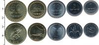 Изображение Наборы монет Тимор Тимор 2003-2006 0  AUNC В наборе 5 монет ном