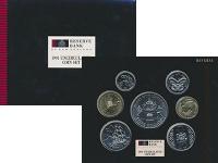 Изображение Подарочные монеты Новая Зеландия Набор 1991 года 1991  UNC