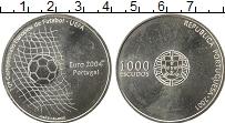 Изображение Монеты Европа Португалия 1000 эскудо 2001 Серебро UNC-
