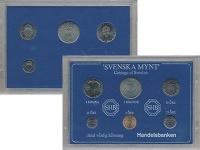 Изображение Подарочные монеты Швеция Набор монет 1981 года 1981  UNC-