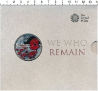 Изображение Подарочные монеты Олдерни 5 фунтов 2015 Медно-никель Proof