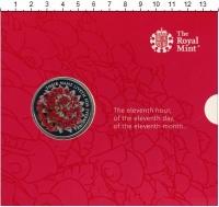 Изображение Подарочные монеты Олдерни 5 фунтов 2016 Медно-никель Proof