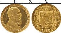 Изображение Монеты Европа Лихтенштейн 10 франков 1930 Золото UNC