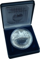 Изображение Подарочные монеты Фиджи 1 доллар 2012 Серебро Proof