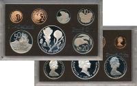 Изображение Подарочные монеты Новая Зеландия Выпуск 1981 года 1981  Proof