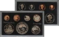 Изображение Подарочные монеты Новая Зеландия Выпуск монет 1987 1987  Proof