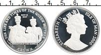 Изображение Монеты Остров Мэн 1 крона 2000 Серебро Proof Елизавета II.  Жизнь
