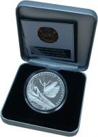 Изображение Подарочные монеты СНГ Казахстан 500 тенге 2012 Серебро Proof