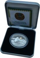 Изображение Подарочные монеты Казахстан 500 тенге 2013 Серебро Proof Каспийский тюлень /