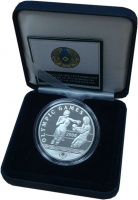 Изображение Подарочные монеты Казахстан 500 тенге 2006 Серебро Proof