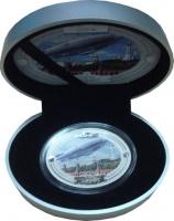 Изображение Подарочные монеты Фиджи 2 доллара 2009 Серебро Proof