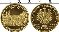 Изображение Монеты Европа Германия 100 евро 2008 Золото UNC