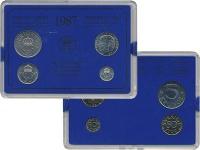Изображение Подарочные монеты Швеция Набор монет 1987 года 1987  UNC Набор посвящён монет