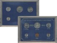 Изображение Подарочные монеты Швеция Набор монет 1973 года 1973  UNC `В наборе 6 монет но