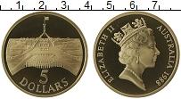 Изображение Монеты Австралия 5 долларов 1988 Латунь Proof