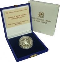 Изображение Подарочные монеты Италия Годовой набор евромонет 2003 2003 Серебро UNC