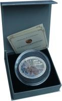 Изображение Подарочные монеты Ниуэ 1 доллар 2011 Серебро Proof Елизавета II. Год за