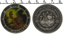 Изображение Монеты Африка Либерия 10 долларов 2002 Медно-никель UNC
