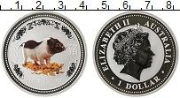 Изображение Монеты Австралия и Океания Австралия 1 доллар 2007 Серебро Proof