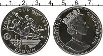 Изображение Монеты Гибралтар 1 крона 1994 Серебро UNC