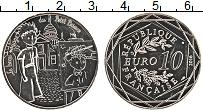 Изображение Монеты Франция 10 евро 2016 Серебро UNC- Маленький Принц