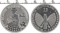 Изображение Монеты Германия 10 евро 2007 Серебро UNC- F. 50 лет Римскому д