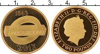 Изображение Монеты Европа Великобритания 2 фунта 2013 Золото Proof