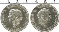 Изображение Монеты Европа Дания 2 кроны 1958 Серебро UNC-